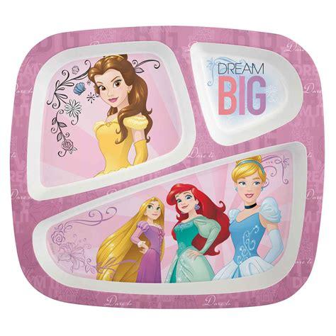 Disney Princess Divided Kids Plates For Sale at Zak Designs!