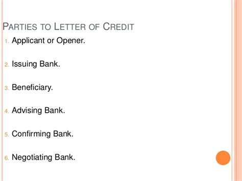 Exim Bank Letter Of Credit Exim 2014 Unit 1