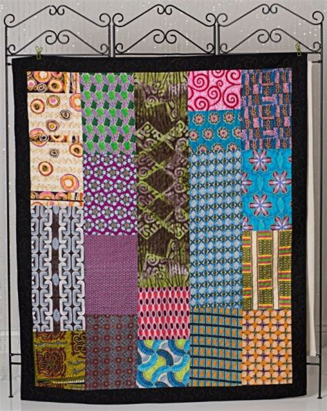 handcrafted quilt 53 x 63 q9473