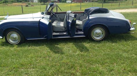 1962 rolls royce custom 4 door convertible f125