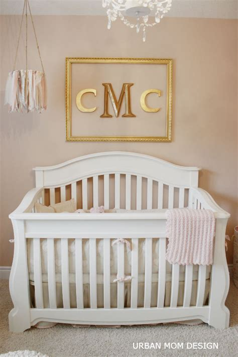 a glamorous nursery for clara project nursery