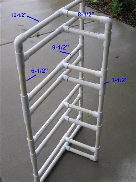 Pvc Bike Rack For by Best 25 Pvc Bike Racks Ideas On Garage Bike