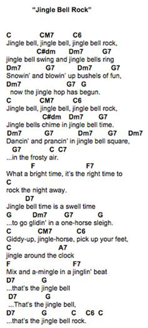 banana boat jingle lyrics christmas songs and carols lyrics with chords for guitar