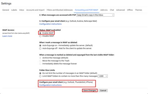 gmail imap how to enable pop3 and imap in gmail account complete setup