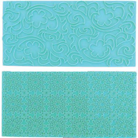Impression Mat by Fmm Impression Mat 3 Vintage Lace Sugarpaste Impression