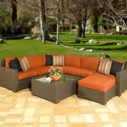 outdoor patio sectionals all weather wicker outdoor sectional seating seats