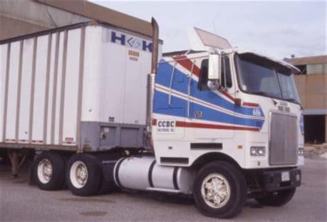 volvo cabover trucks white gmc volvo coe question
