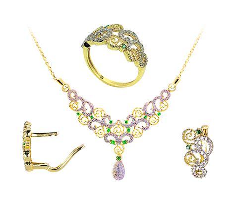 Modeschmuck Hochzeit by Damen Hochzeit Set 585 Gold Set Gold Youluxe De