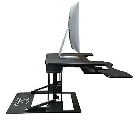 extra large computer desk fancierstudio riser desk standing desk extra wide 38 quot fits