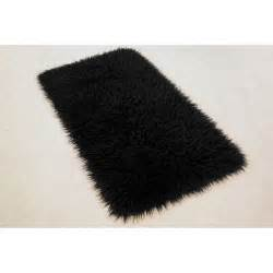 Black Fur Rug by Decor Fill Your Home With Chic Fur Rug For Floor
