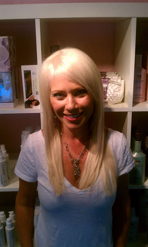 klix extensions short hair long hair styles in dallas extension makeover