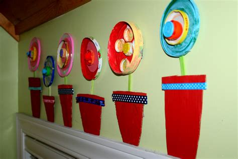 spring projects pitter patter flower power