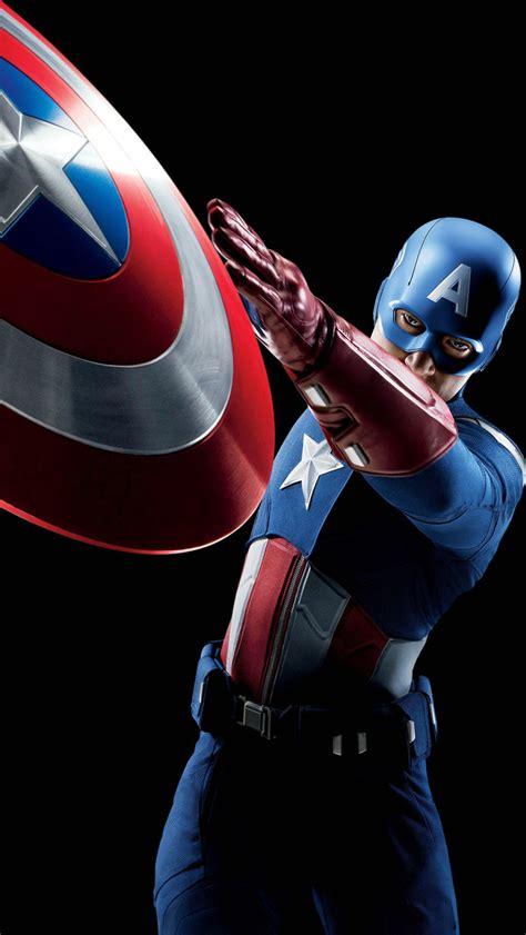 Mobil Captain America captain america mobile wallpaper wallpapersafari
