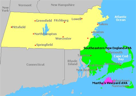 Search Massachusetts Map Of Massachusetts