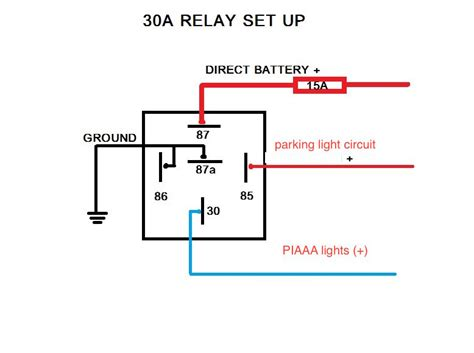 bosch 5 pin relay spotlight wiring diagram wiring