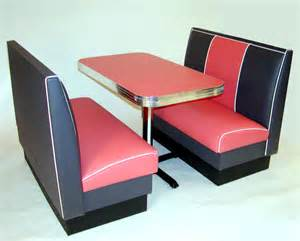 miami deco diner booth kitchen seating furniture retro