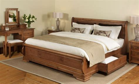 parisienne sleigh bed with drawers ideas for the house