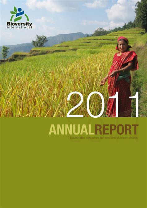 annual financial report sle bioversity international 2011 annual report