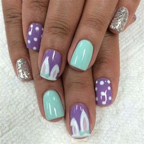 Glitzer Nägel Galerie 2471 by 32 Nail Designs For Easter Page 31 Foliver