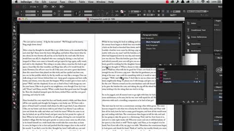 indesign creating a book creating a book using adobe indesign cc2014 youtube