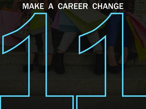 7 Reasons To Make A Career Change by Make A Career Change