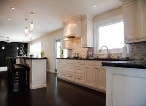 delightful White Kitchens With Dark Floors #1: home-design.jpg