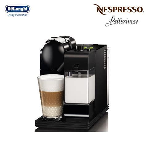 delonghi nespresso lattissima plus en520b black coffee machine around the clock offers