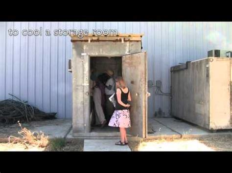 how to make a room cooler cold storage youtube