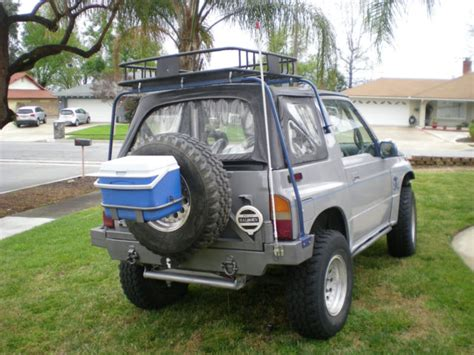 Suzuki Sidekick Custom 1995 Suzuki Sidekick 4x4 Custom Offroad Tow Four Wheel