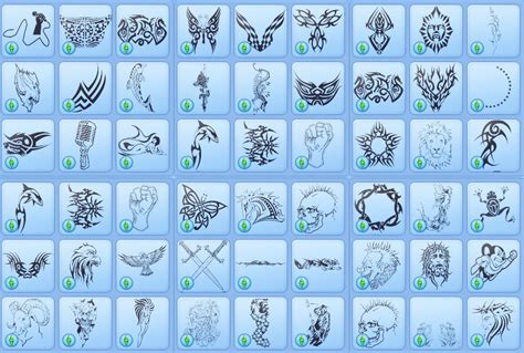 sims 3 tattoos my sims 3 custom tattoos by fourtseven
