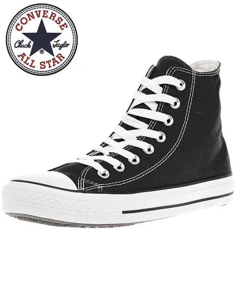 Sepatu Converse All Clasic Low Black Import Quality converse mens black chuck allstar classic hi tops lace up casual sneakers ebay