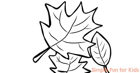 Coloring Pages For Fall To Print by Fall Coloring Pages Simple For