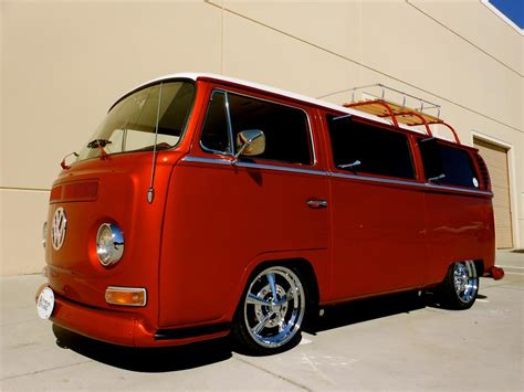 custom volkswagen bus 1968 volkswagen bay window custom bus 161702