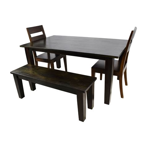 crate barrel dining table 54 crate and barrel crate barrel basque java