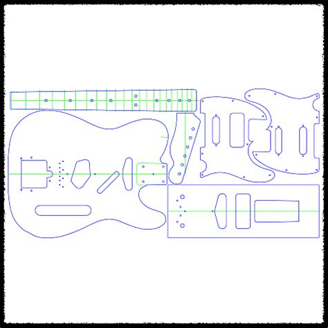 stratocaster routing template telecaster guitar routing templates 1 4 quot clear acrylic