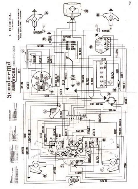 vespa p200e wiring diagram vespa 150 wiring diagram