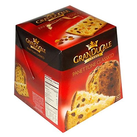 Scs6 Granducale Panettone Classico Recipe Made In Italy (Gourmet Sweet Bread Loaf)  2Lb   Buy