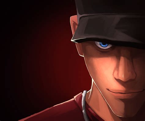 The Scout tf2 scout by biggreenpepper on deviantart