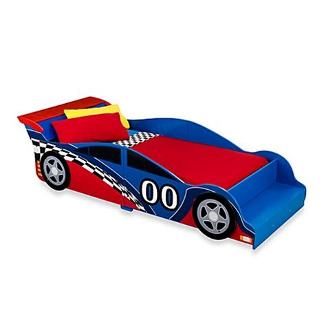 racecar toddler bed buy kidkraft 174 racecar toddler bed from bed bath beyond