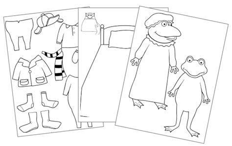 froggy gets dressed coloring pages coloring pages