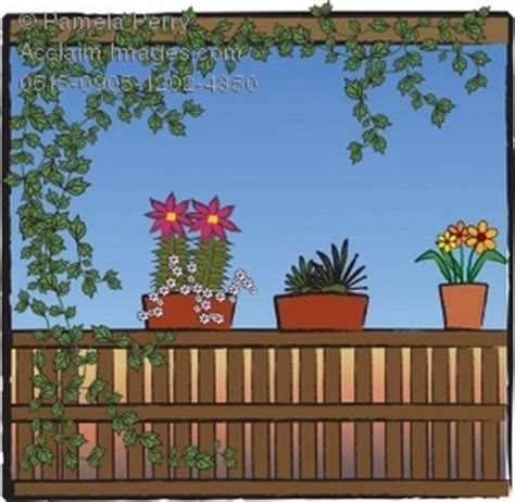 porch clipart clip illustration of plants on a porch covered with