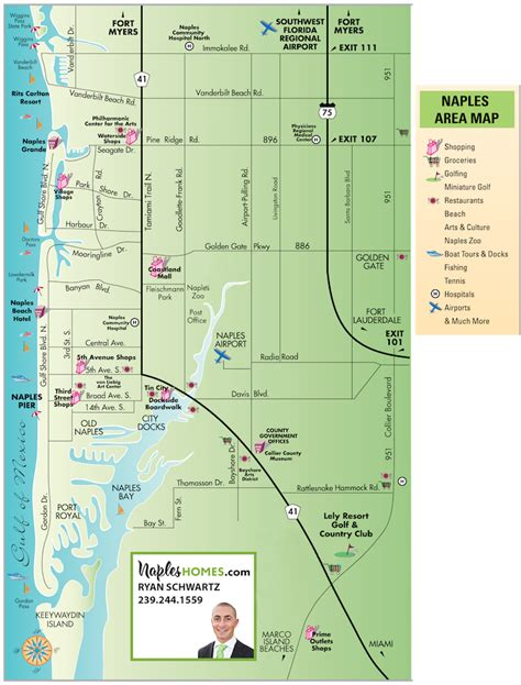 naples florida map map of naples fl world map 07