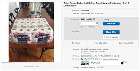 amazon  ebay  working  remove aussies selling toilet rolls   gizmodo australia