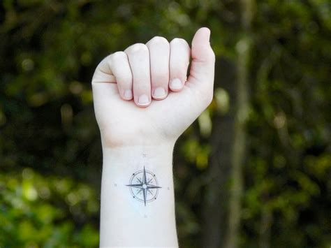 small compass tattoo www imgkid com the image kid has it