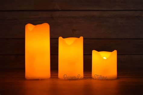 mini flameless led candle light with remote flicker timer