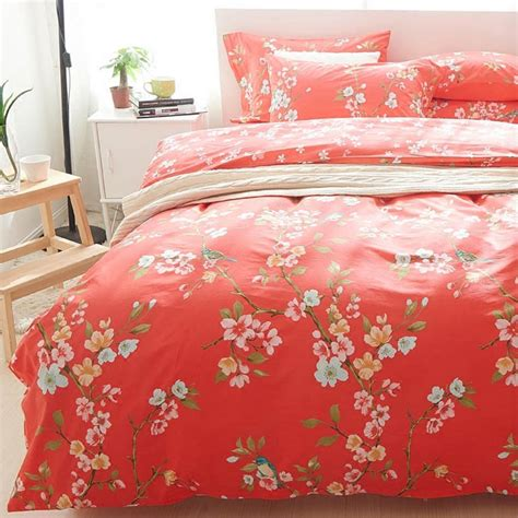 red floral bedding online buy wholesale red teen bedding from china red teen