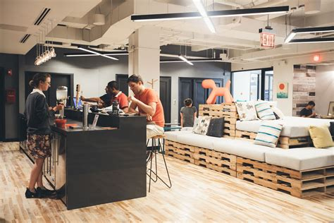 coworking office space in wework dumbo