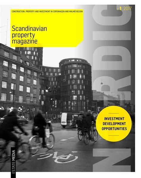 grafisk design malmö scandinavian property magasin 2017 by estate media dk