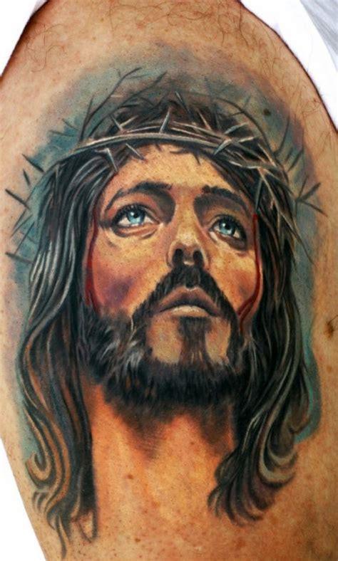 tattoo shoulder jesus 59 jesus designer shoulder tattoos