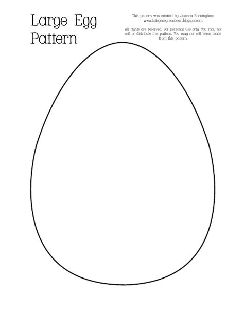 egg pattern drawing little gene green bean egg xcellent easter crafts